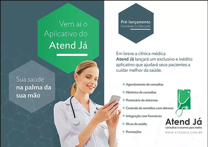 7dec4d508b8b Atend Já lançará aplicativo inédito no mercado de clínicas populares ...